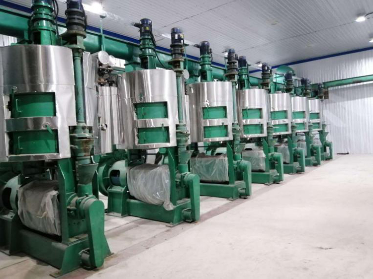 Industrial Soy Bean Oil Press Machine
